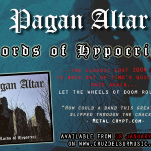"PAGAN ALTAR ""Lords of Hypocrisy"" Pre-Orders OPEN NOW!!"