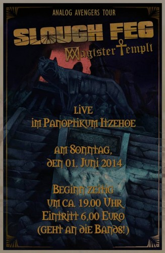 sloughfeg itzehoe 327x500 Magister Templi to commence European tour with Slough Feg this week