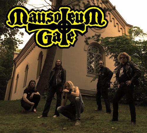 MGateBandnLogo21 MAUSOLEUM GATE announces artwork, tracklist and song streaming