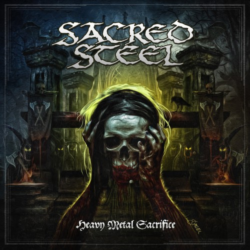 Sacred Steel - Heavy Metal Sacrifice - cover web