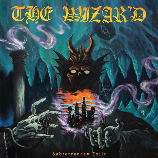 """THE WIZAR'D """"Subterranean Exile"""" CD"""