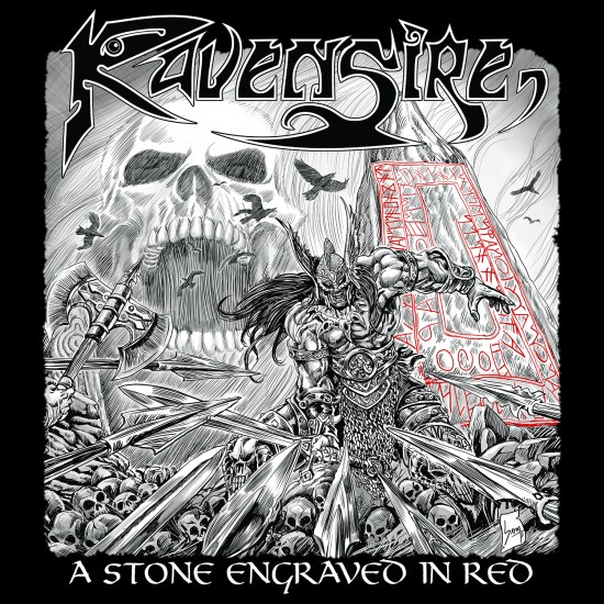 "RAVENSIRE ""A Stone Engraved in Red"" CD"