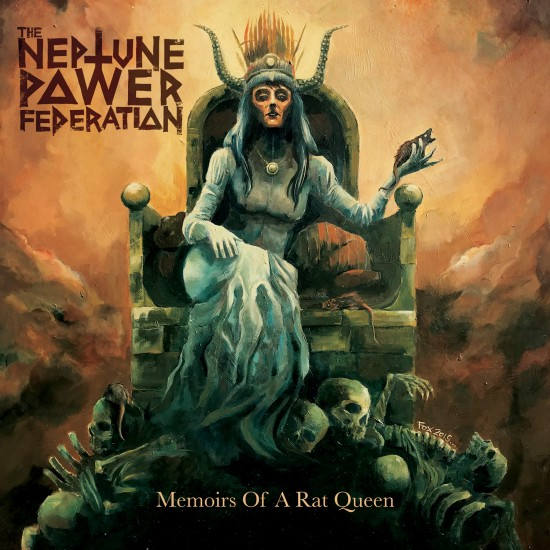 "THE NEPTUNE POWER FEDERATION ""Memoirs of a Rat Queen"" CD"