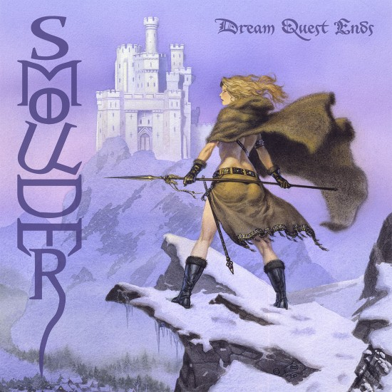 "SMOULDER ""Dream Quest Ends"" NEON VIOLET LP"