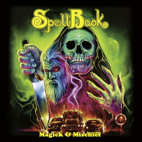"""SPELLBOOK """"Magick & Mischief"""" CD"""