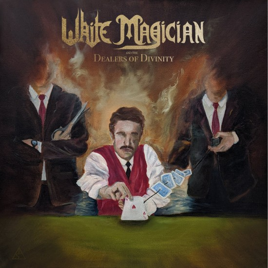 """WHITE MAGICIAN """"Dealers of Divinity"""" CD"""