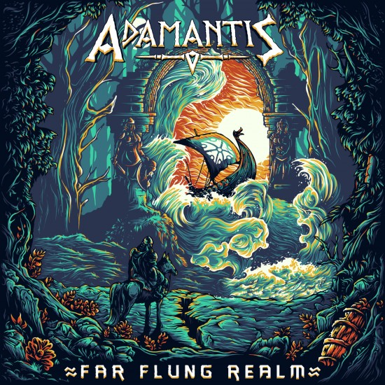 "ADAMANTIS ""Far Flung Realm"" CD"