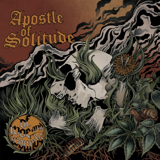 """APOSTLE OF SOLITUDE """"Of Woe And Wounds"""" CD"""