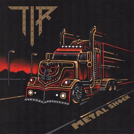 """TIR """"Metal Shock"""" LP"""