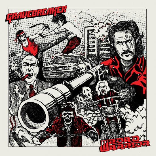 "ROAD WARRIOR / GRAVEBREAKER ""SPLIT"" 7''"