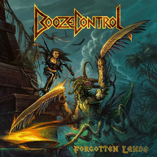 """BOOZE CONTROL """"Forgotten Lands"""" LP"""
