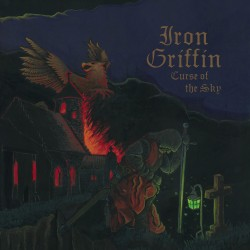 "IRON GRIFFIN ""Curse Of The Sky"" CD"