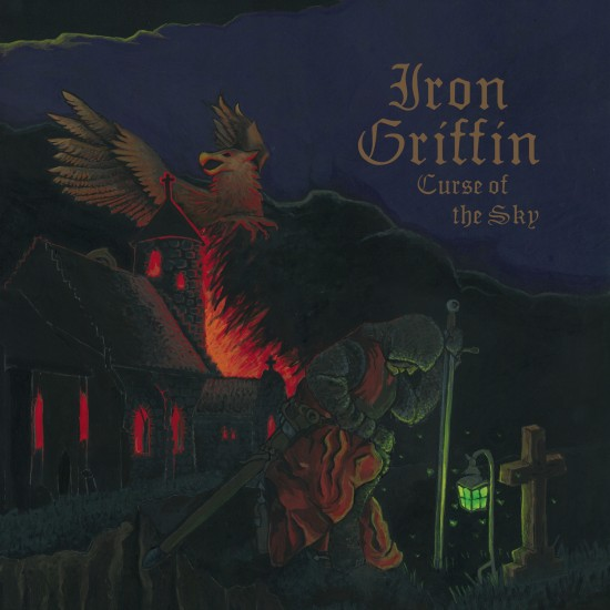 "IRON GRIFFIN ""Curse Of The Sky"" LP"