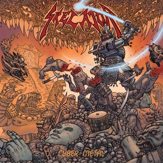 """SKELATOR """"Cyber Metal"""" CD"""