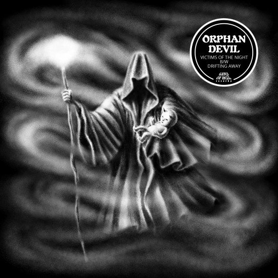 """ORPHAN DEVIL """"Victims of the Night / Drifting Away"""" 7''"""
