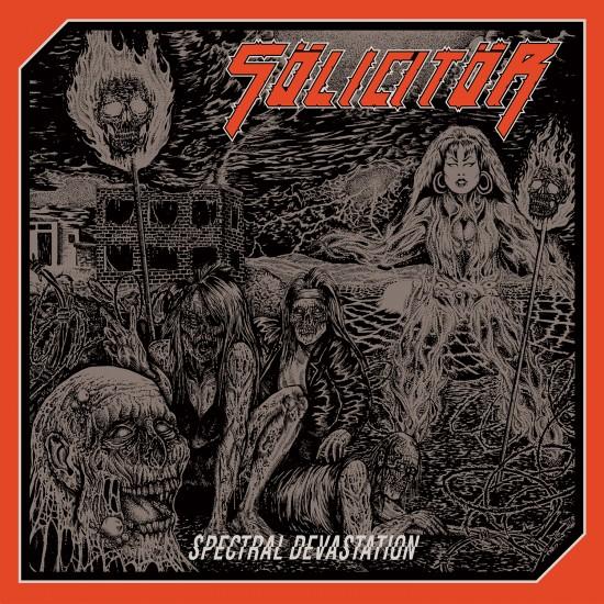 """SÖLICITÖR """"Spectral Devastation"""" LP"""
