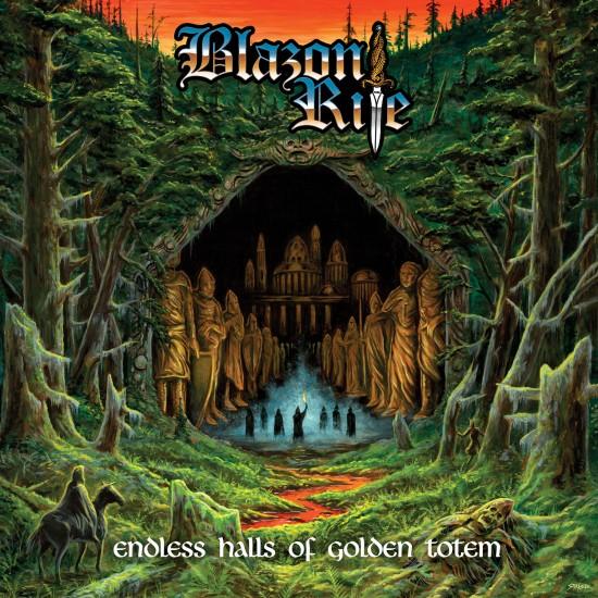 "BLAZON RITE ""Endless Halls of Golden Totem"" CD"