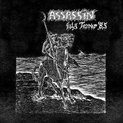 """ASSASSIN """"Holy Terror"""" LP SPLATTER"""
