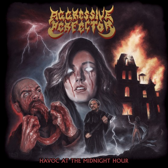 """AGGRESSIVE PERFECTOR """"Havoc at the Midnight Hour"""" CD"""