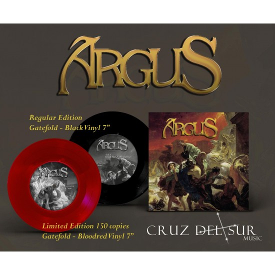"ARGUS ""Death Hath No Conscience / Streets of Gold"" 7''"