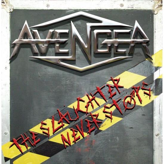 """AVENGER """"The Slaughter Never Stops"""" CD"""
