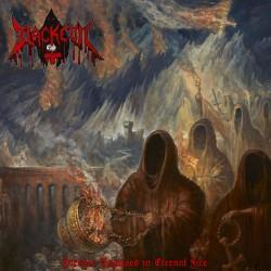 """BLACK EVIL """"Forever Baptised In Eternal Fire"""" LP"""