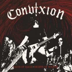 "CONVIXION ""Days of Rage Nights of Wrath"" CD"