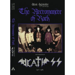 """DEATH SS """"The Necromancer of Rock"""" BOOK"""
