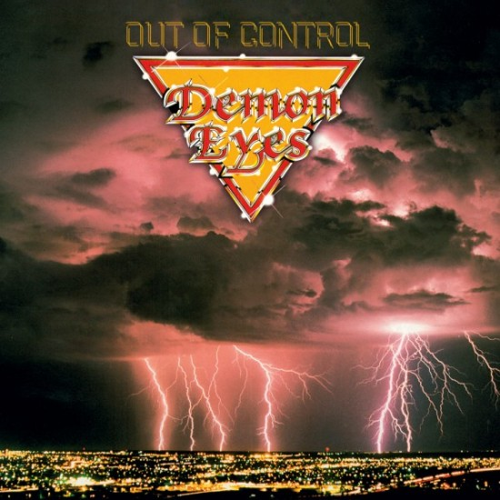 "DEMON EYES ""Out Of Control"" CD"