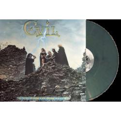 """EVIL """"Evil's Message"""" LP (MARBLE TEAL)"""