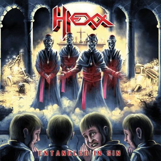 """HEXX """"Entangled in Sin"""" CD"""