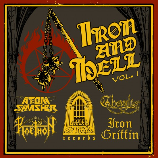 """V/A """"Iron And Hell"""" CD"""