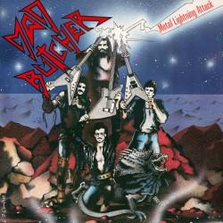 """MAD BUTCHER """"Metal Lightning Attack"""" LP"""