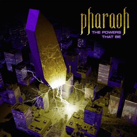 "PHARAOH ""The Powers That Be"" LP BLACK  *PRE-ORDER*"