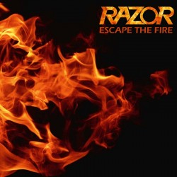 """RAZOR """"Escape The Fire"""" LP BLACK"""