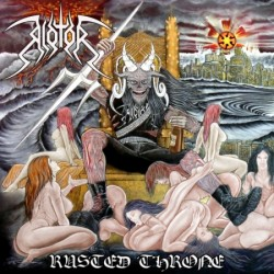 """RIOTOR """"Rusted Throne"""" CD"""