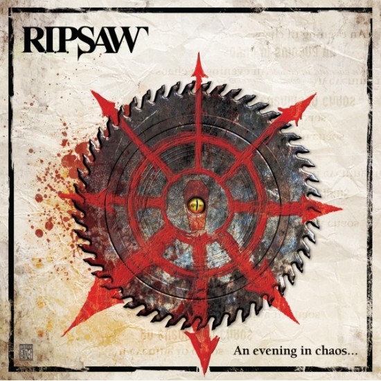 """R.I.P. SAW """"An Evening in Chaos"""" CD/DVD"""