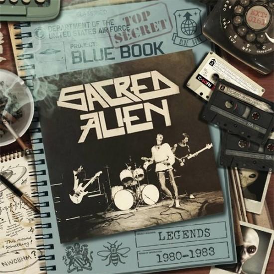 """SACRED ALIEN""""Legends 1980-1983"""" CD"""
