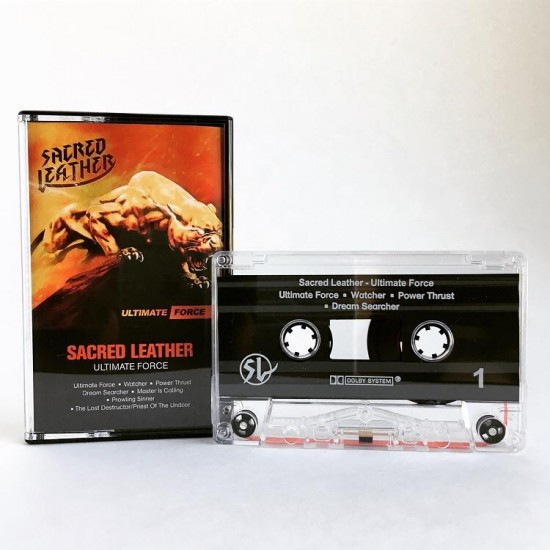 """SACRED LEATHER """"Ultimate Force"""" TAPE"""