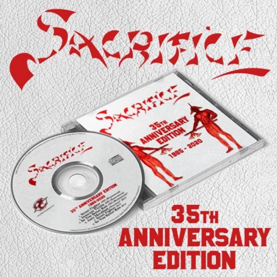 "SACRIFICE ""35th Anniversary Edition 1985-2020"" CD"