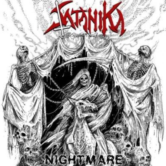 """SATANIKA """"Nightmare"""" CD"""