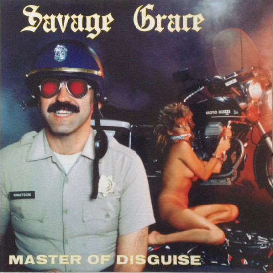 """SAVAGE GRACE """"Master of Disguise"""" CD"""