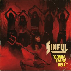 "SINFUL ""Gonna Raise Hell"" CD"