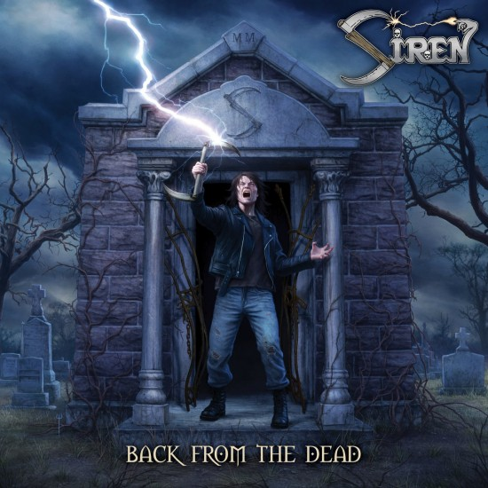 "SIREN ""Back From The Dead"" CD"