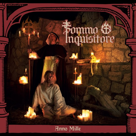 """SOMMO INQUISITORE """"Anno Mille"""" CD"""