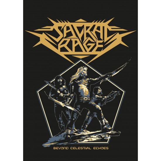 "SACRAL RAGE ""Beyond Celestial Echoes"" TSHIRT"