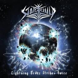 "STORMCHILD ""Lightning Never Strikes Twice"" CD"