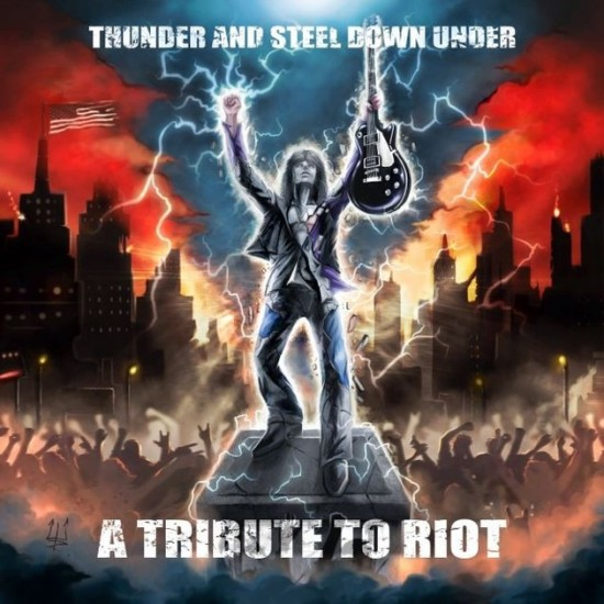 """V/A """"Thunder And Steel Down Under: A Tribute to RIOT"""""""