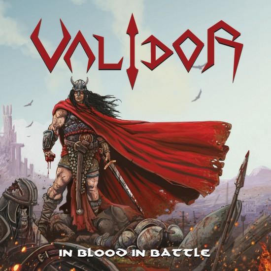 "VALIDOR ""In Blood In Battle"" CD"