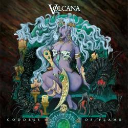 """VOLCANA """"Goddess of Flame"""" CD"""